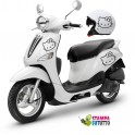 Kit adesivi scooter + casco HELLO KITTY 2